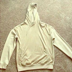 Tan hoodie nice quality
